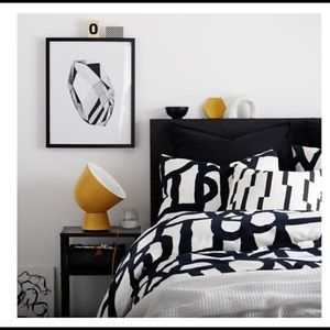 IKEA King Duvet Cover and Pillowcases